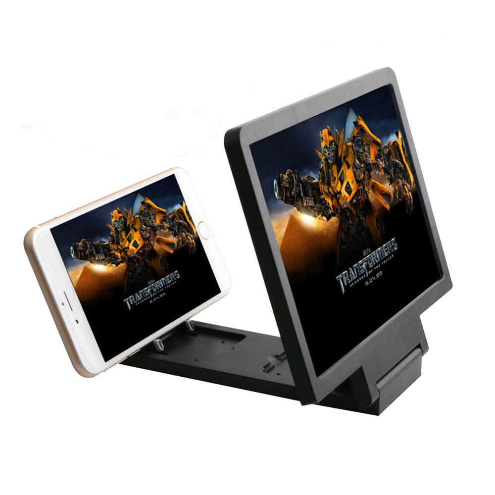 Hot Universal Lupa Vidro 3D Amplificador de Tela de Cinema HD Para Smart Phone Holders & Stands