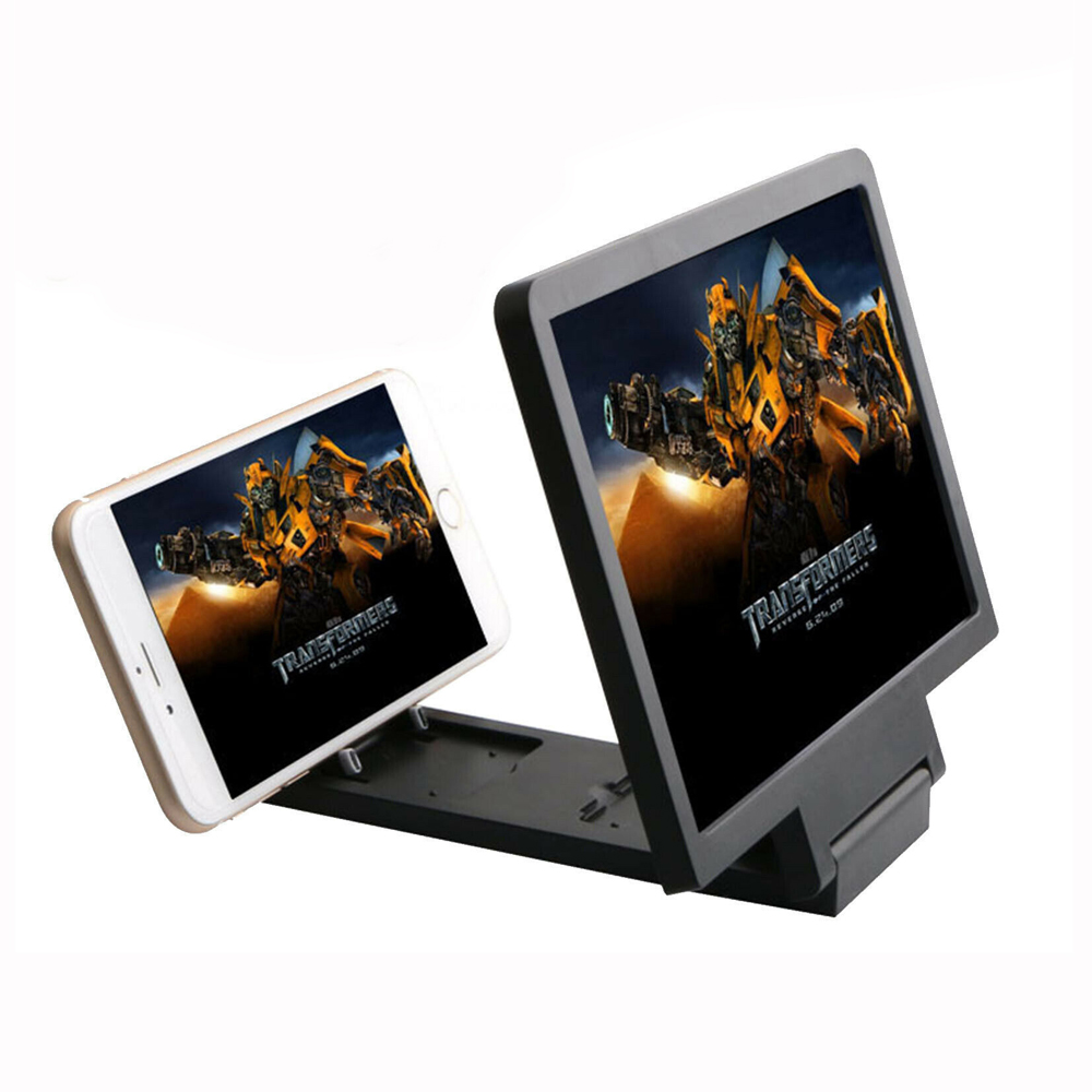 Hot Universal Magnifier Glass 3D Movie Screen HD Amplifier For Smart Phone Holders & Stands