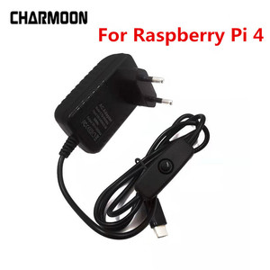 5V 3A Raspberry Pi 4 Power Supply Type-C Power Adapter With ON/OFF Switch EU US AU UK Charger for Raspberry Pi 4 Model B(China)