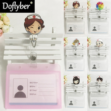 Supplie Badge-Holder Retractable Nurse Id-Name-Card Office Doctor Student Hospital Cute