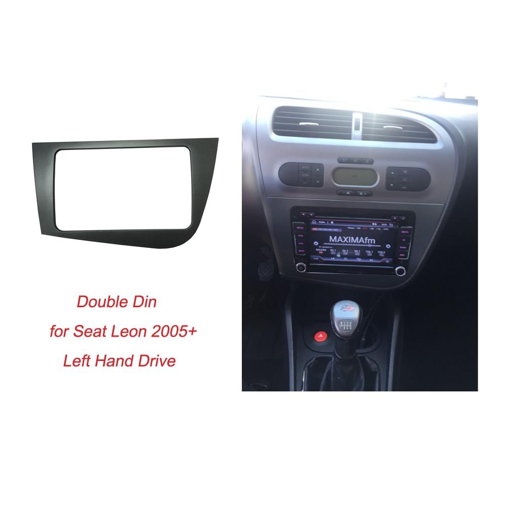 Radio Fascia für Seat Leon Double Din Head Unit Stereo Panel Dash - Autoteile - Foto 2