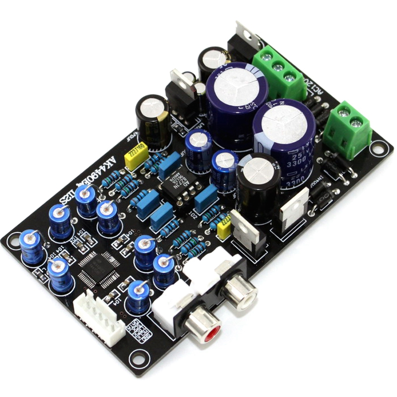 Assembled Ak4490Eq Ak4490 Ii2S Dac Support 32Bit 768K Hifi Decoder Board G6-008