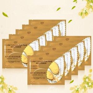 Gold Crystal Collagen Eye Mask Eye Care Dark Circles Remove Moisturining Eye Skin Anti-aging Wrinkle Skin Care TSLM1
