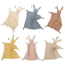 Soft Newborn Baby Sleeping Dolls Kids Fashion Sleep Toy Soothe Appease Towel Bib H05C