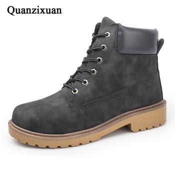 Męskie buty kamuflaż buty wojskowe nowe zimowe buty męskie buty pluszowe ciepłe męskie zimowe obuwie buty męskie buty dla dorosłych mężczyzn 39 S tanie i dobre opinie Quanzixuan Podstawowe CN (pochodzenie) ANKLE Stałe Krótki pluszowe Futro Okrągły nosek RUBBER Zima Niska (1 cm-3 cm)