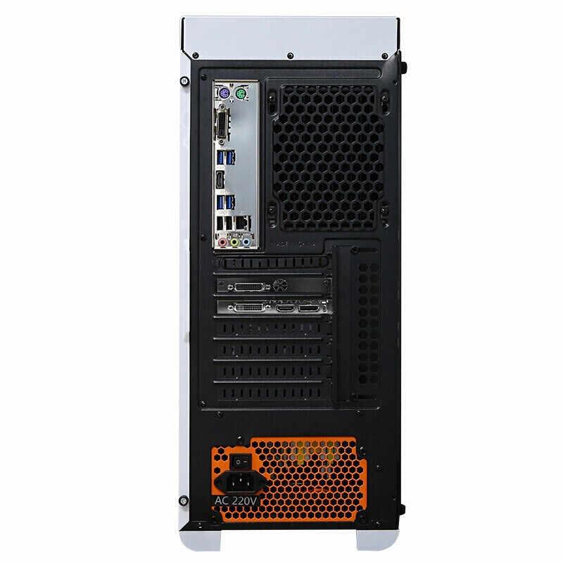 كمبيوتر مكتبي للألعاب من كوتين إنتل كور i7 9700K 3.6GHz Z390 RTX 2060 سوبر 8GB 16GB RAM كمبيوتر تبريد المياه