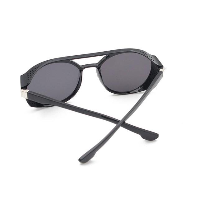 RBRARE-Gafas De Sol clásicas Steampunk para hombre, lentes De Sol De diseñador De marca De lujo para hombre, anteojos De Sol Vintage para conducir al aire libre para Mujer 3