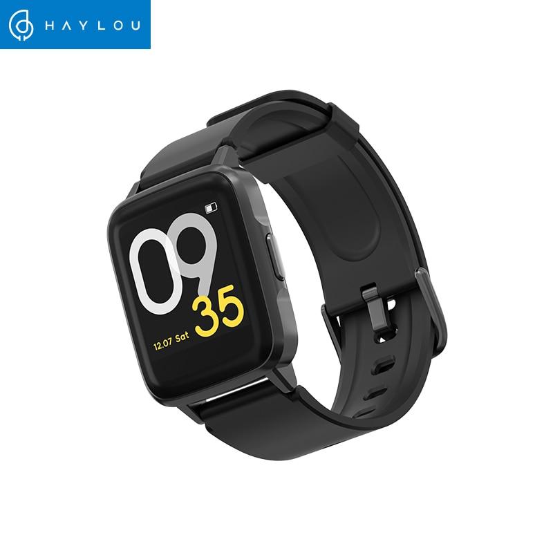 Haylou LS01 Global Version 9 Sport Modes Smart Watch IP68 Waterproof Sleep Management Universal Fashion Bluetooth Smart Band(China)