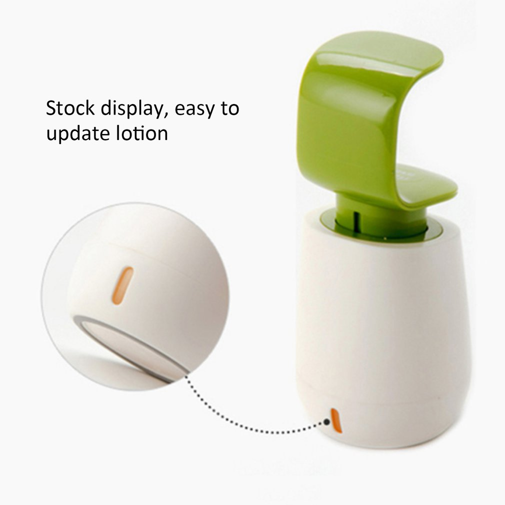 Convenient C Shaped One-handed Hand-pressing Hand Sanitizer Bottle Soap Dispenser Hotel Bathroom Shampoo Shower Gel Bottle