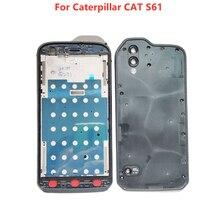 Originele Voor Caterpillar Cat S61 Front Frame + Back Batterij Case Behuizing Cover Accessoires Reparatie Onderdelen Voor Kat S61 5.2 Telefoon