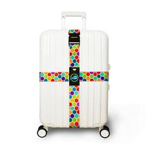 Buy HobbyLane Luggage Three Digits Password Cross Belt Adjustable Suitcase Band Safety Bundle Luggage Rope Straps Travel Accessorie directly from merchant!
