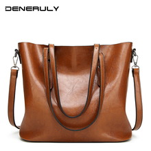 Large Leather Tote Bags For Women High Capacity Luxury Handbags Vintage Women Bags Designer 2019 Oil Wax Soft Leather Bags Women zmqn women leather handbags oil wax soft leather hand bags large capacity crossbody bags famous brand portable strap adjustable