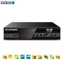 HD Digital MPEG4 DVB T2 TV Receiver Unterstützung H.264 1080P Terrestrischen Empfänger Unterstützung WIFI DVB-C TV Tuner DVB-T2 Set top Box