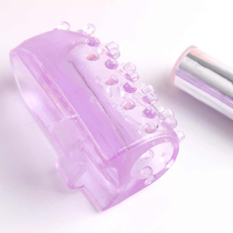 Dedo vibrador pezón estimulador de clítoris vibrador Mini saltando huevos juguetes sexuales para las mujeres impermeable Vaginal masajeador sexo productos