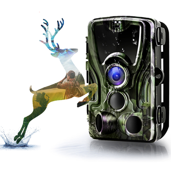 HC801 Hunting Trail Camera 20MP 1080P Night Version Invisible Infrared LED Wild Cameras 0.3s Trigger Surveillance Photo Traps 1