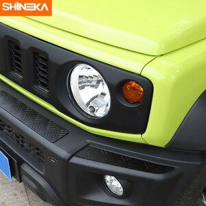 Image 3 - Shineka Aluminium Bumpers Bescherming Voor Suzuki Jimny Auto Voorbumper Versieringen Cover Panel Accessoires Voor Suzuki Jimny 2019 +