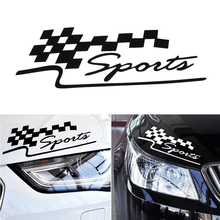 1 Pcs Decal Racing Sports Flag Set Car Stickers Auto Motorcycle Reflective Vinyl Sticker Styling