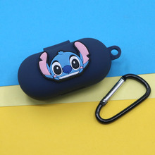 Silicone Case for Haylou GT1/GT1 Plus Wireless Bluetooth Headset Portable Protective Cover with Anti-lost Buckle for Haylou GT1