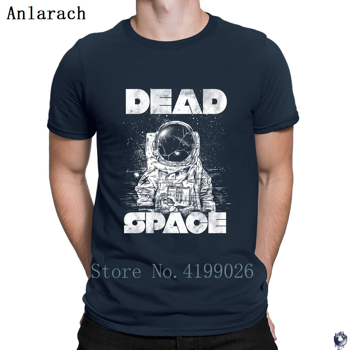 Dead Space t-shirts tops Printing Gift Building tshirt for men homme slim Spring Autumn Anlarach cotton image