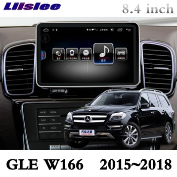 For Mercedes Benz MB GLE ML M Class W166 2015 2016 2017 2018 Liislee Car Multimedia Player NAVI CarPlay Car Radio GPS Navigation image