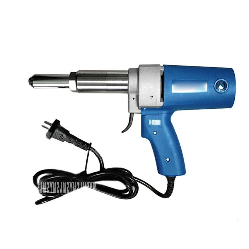 P1M-SA3-5 Electric Rivet Gun Professional Pull Riveting Tool Blind Rivet Gun Portable Riveting Gun 220V/110V 400W 3.0mm~5.0mm