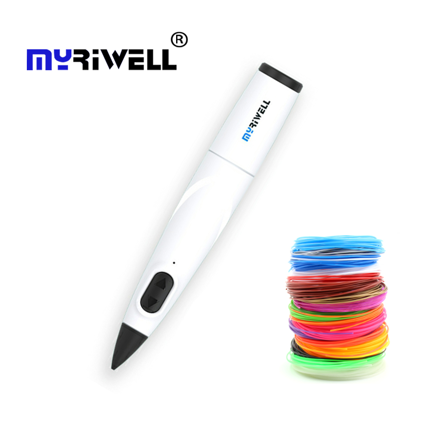 myriwell 3D Pen USB Cable 3D Printing Pen Use PCL Filament Creative Toy Gift For Kids Christmas gifts 3D Drawing Printer DIY Pen