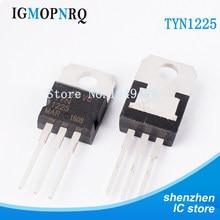 10 piezas TYN1225 a-220 SCR 25 Amp 1200 voltios nuevo original envío gratuito entrega rápida