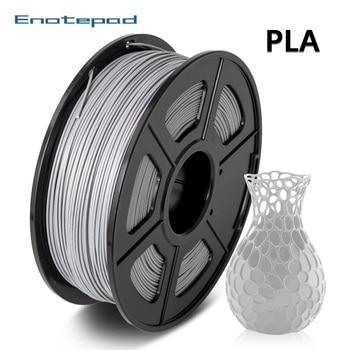 Enotepad PLA Filament 1kg 1.75mm for 3D printing filamento pla de 1 75mm 1 kg pla harmless material 3D printer silky copper pla filament silk 1 75mm 1kg 3d printing material silk like feel pla metal like red blue green natural