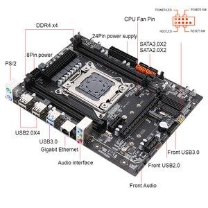 Image 2 - Kllisre X99 motherboard set with Xeon E5 2620 V3 LGA2011 3 CPU 2pcs X 8GB =16GB 2666MHz DDR4 memory