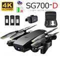 SG700D RC Drone ile 4K Kamera Wifi FPV Quadcopter 22 dakika Uçuş Süresi Hareket Kontrolü Katlanabilir Dron Vs SG900 XS816 SG106