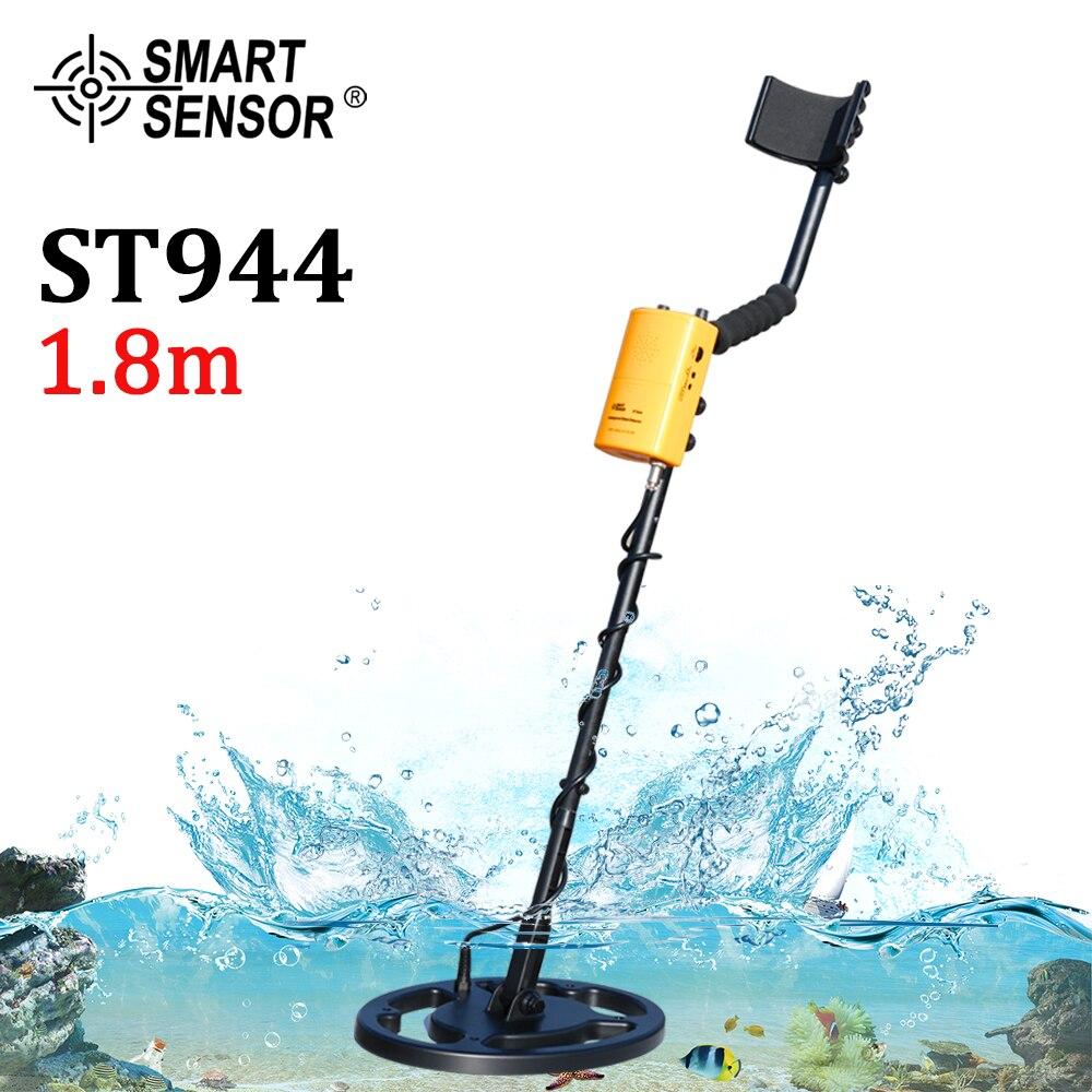 Металлоискатель Подземный на глубину до 1,8 м, водонепроницаемый сканер для обнаружения катушек, устройство для поиска металла с аккумулято...