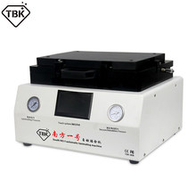 LCD Repair Machine 13 Inch Flat Screen Vacuum OCA Lamination and Bubble Remover Machine For All Smart Phone TBK808