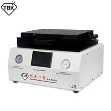 Máquina de reparo lcd 13 Polegada tela plana vácuo oca laminação e máquina removedor bolha para todo o telefone inteligente tbk808