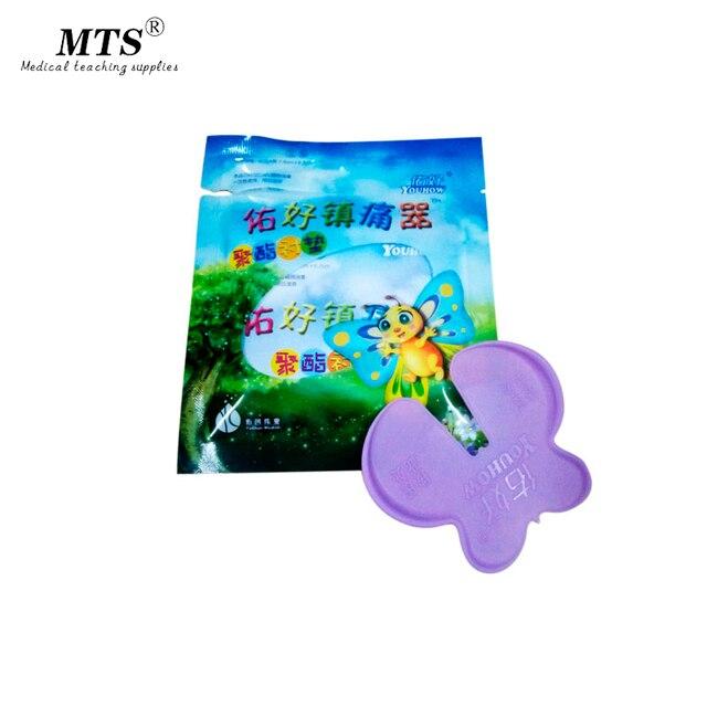 5 uds. De equipo analgésico médico para niños con forma de mariposa, indoloro, sin aguja, familia, inyecciones para niños y control del dolor