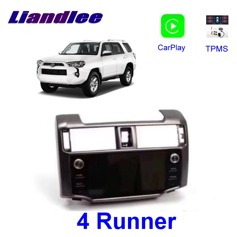 Liandlee Car Multimedia GPS DVD HiFi Stereo System For <font><b>TOYOTA</b></font> <font><b>4Runner</b></font> 4 Four Runer N280 2009~2019 Carplay TPMS Navigation NAVI image