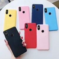 커버 Xiaomi Mi A2 Xiomi A2 Lite 케이스 Xiaomi Mi A2 A 2 MiA2 lite A2Lite 케이스 울트라 슬림 실리콘 매트 소프트 폰 케이스