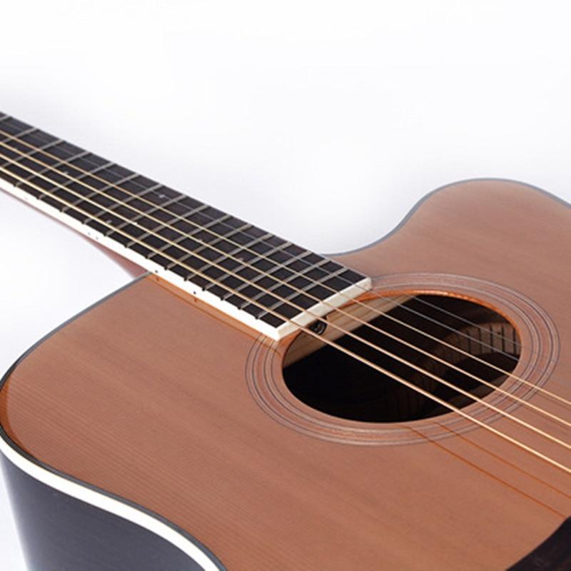 Guitare 40/41 pouces haute qualité guitare 6 cordes épicéa Rose acajou guitare haute brillance haut rigide GuitarAGT150 - 4