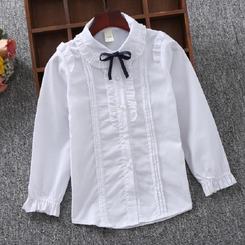 Shirts For Girls Cotton Casual Children Clothing White Girls Blouses Long  Sleeve Girls Shirts Autumn Spring Kids Clothes Girls|girls blouse|white  girls blouseblouse shirt girl - AliExpress