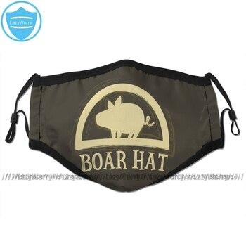 Mascarilla del logo del Boar Hat Nanatsu no Taizai Nanatsu no Taizai Mascarillas de Anime