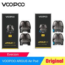 VOOPOO ARGUS Air Pod wkład 3 8ml pusty Pod i Pod z 0 8ohm cewki Vape Pod zbiornik dla ARGUS Air elektroniczny papieros tanie tanio CN (pochodzenie) VOOPOO ARGUS Air Pod Cartridge Z tworzywa sztucznego Wymienne ARGUS Air Pod Vape Kit PCTG Pod Cartridge Built-in 0 8ohm coil for MTL vaping