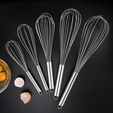 Egg-Beater Mixer Butter-Blender Kitchen-Tools Hand-Whisk Stainless-Steel 1pcs Batidor-De-Huevos