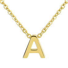 Модное женское ожерелье runda с подвеской в виде букв 26 позолоченное