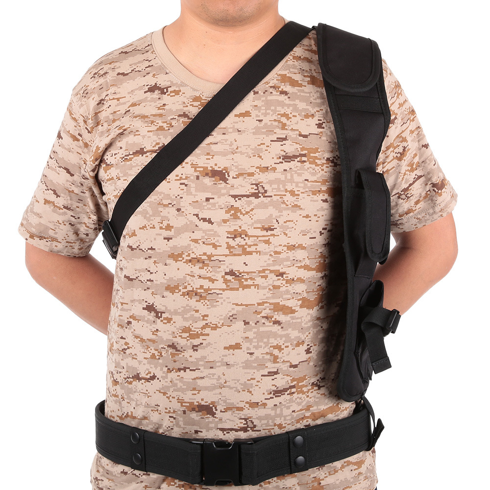 Tactical Army Fan Shoulder Special Agent Version Underarm Hood Vest Camouflage Waterproof Stealth Tactical Holster Vest