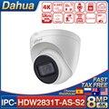 Сетевой видеорегистратор Dahua IPC-HDW2831T-AS-S2 8MP 4K IP CCTV камера Камера купольная ИК-Встроенный микрофон H.265 + слот для карты SD умный дом видео дверной...