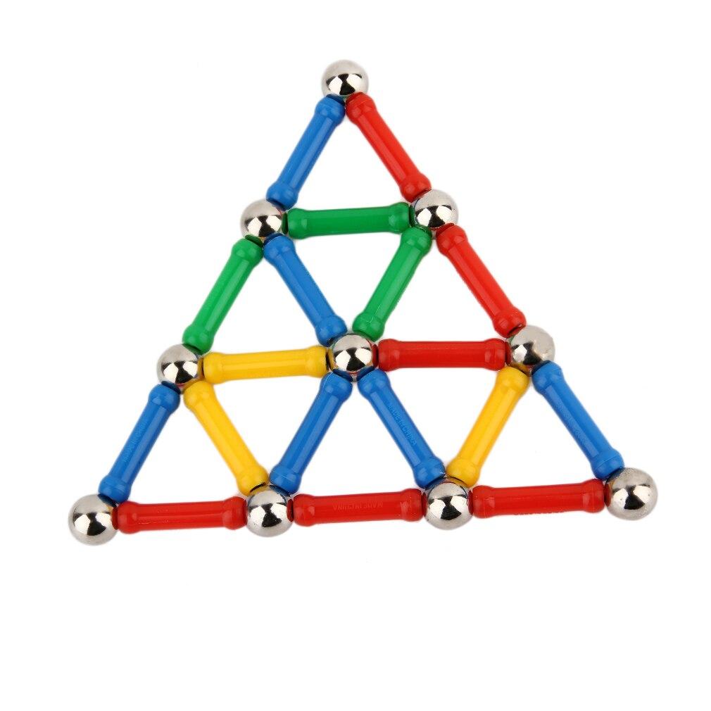 Хит! 28 шт./компл. трехмерные магнитные дизайнерские стержни, Детские ручные магнитные блоки, Развивающие детские игрушки, распродажа