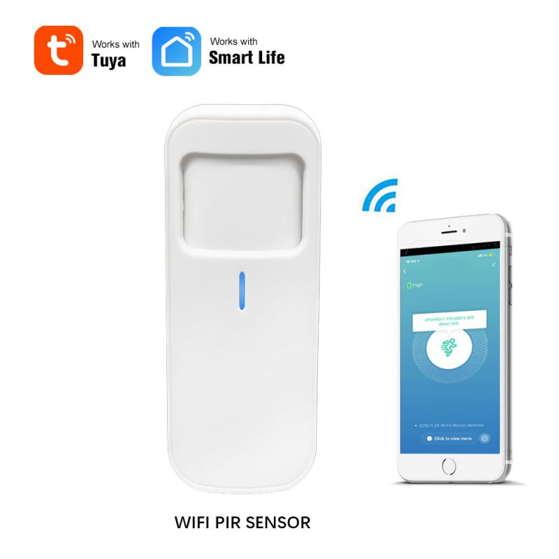 Smart Motion PIR Detector Motion Detector WIFI Sensor Smart Life APP Wireless Home Security System Smart Life / Tuya APP Control