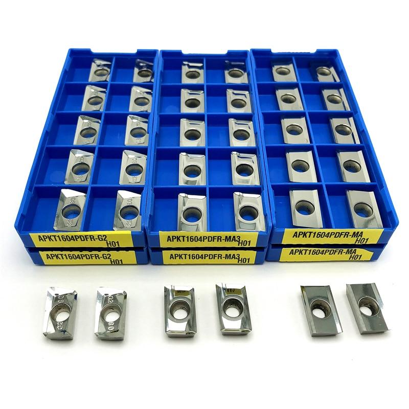 APKT1135 APKT1604 APGT1604 MA H01 Cutting tool Aluminum turning tool Carbide insert milling insert CNC metal lathe tools