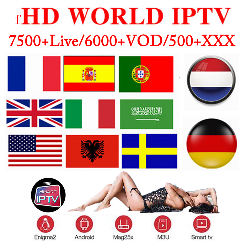 Best SStable IPTV Spain M3U Francais IPTV Portugal Subscription 1 Year IPTV M3U France Free VOD For Smarts TV Xxx Android TV Box