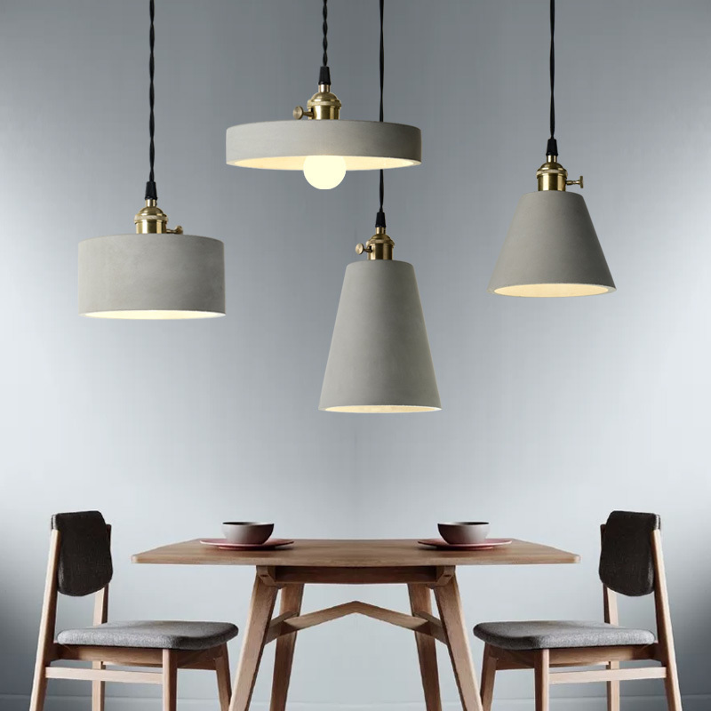 vintage pendant lights loft lamp avize nordic hanglamp restaurant kitchen light suspension luminaire home industrial lighting