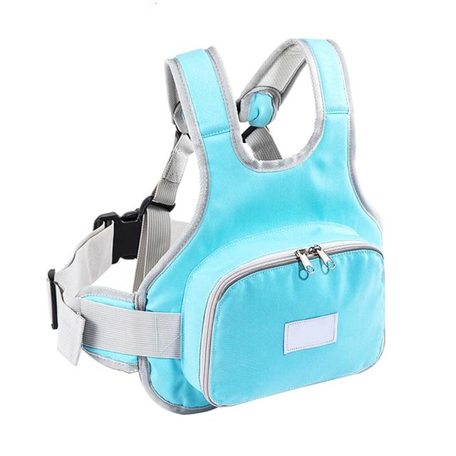 Motorcycle Children Safety Belt Anti-fall Straps Back Hold Protector Reflect Vest Belt Adjustable Kids Vehicle Safe Harness Se24